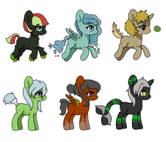 themed pony OTA. 4/6 OPEN ^^ by InuLover097