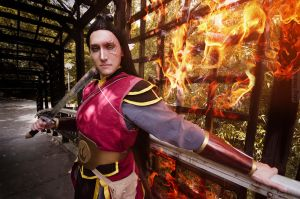 Fire Lord Zuko - Avatar The Legend of Korra by TophWei