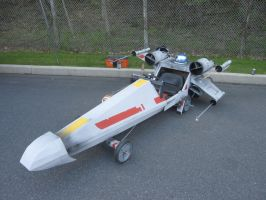 X-Wing Soapbox Derby Car by thepapierboy