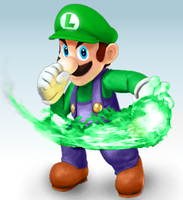 Luigi Confirmed for Super Smash Bros Wii U/3DS! by PichuThePokemon