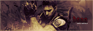Chris Redfield by Crazy-Sweet