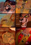 TLK Death of Mufasa, Comic page 1 by wolfmarian