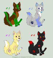 point Adoptables 1 left by shy-fox