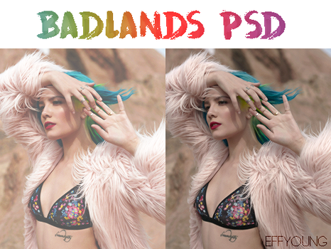 Badlands | psd by effyoung