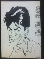 Charlie Sheen by jjanthony74