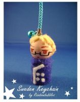 APH Sweden keychain by Rainbowbubbles