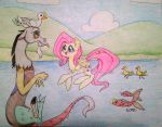 Going for a Swim - Fluttercord! by ameliacostanza