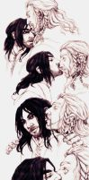 Fili and Kili kisses by IrbisN