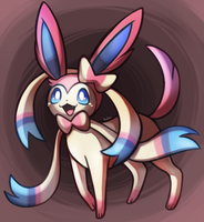 sylveon by bukin