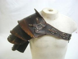 Studded Pauldron by OfTheGodsBlood