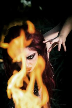 The Fire Goddess 3 by MissMandyMotionless