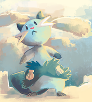 dewott by sweating