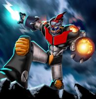 mazinger by mrefaie