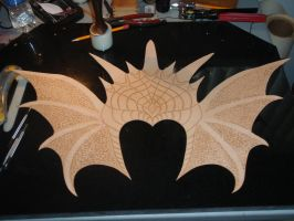 Dragon helm battle crown flat by Red-Dragon-Lord
