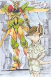 A roo and his mech by kitfox-crimson