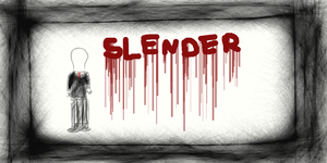 Slenderman by awesomegirl37