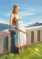Helen of Troy by AGRbrod