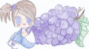 Grapes by Tahlre