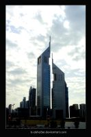 Emirates Towers by B-Alsha3er