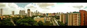 To City Panorama by Renez