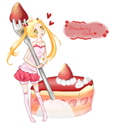Strawberry Cake! by Mirrae