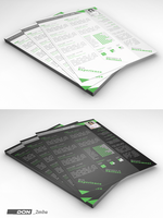 Creative resume template by don2mba
