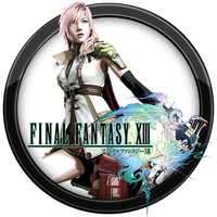 Final Fantasy XIII Icon v2 by andonovmarko