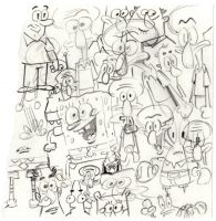 SpongeBob SquareDoodles by shermcohen