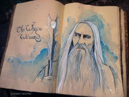 The White Wizard by Kinko-White