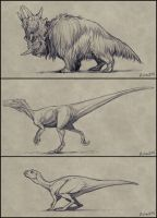 Extinct Sketches Dump 2 by mrXylax