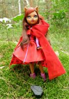 Clawdeen Wolf: Red Hood by BaziKotek
