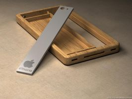 iPhone bamboo 2 by eco6org
