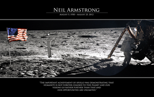 A Tribute to Neil Armstrong by LordReserei