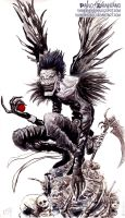 Ryuk by shinobimerc
