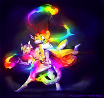Double Rainbow [COLLAB] by Neko-Maya