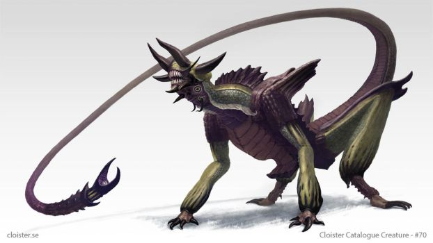 Haphnax - creature design by Cloister