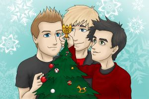 Green Day Holidays 2012 by kelly42fox