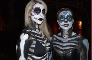 Sugar Skull Gals by thebryancrump