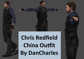 Chris Redfield - China Outfit - XPS ONLY by DanCharles