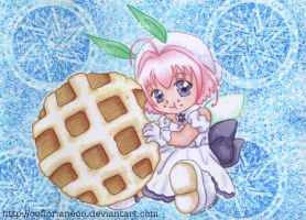 """""""Sugar eating a waffle"""" by oOFlorianeOo"""