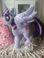My Little Pony Princess Twilight Plushie Available by CINNAMON-STITCH