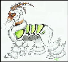 Cat-moth chimera  Point Auction CLOSED by GreenEyed-Z