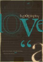 I Love Typography by Man-i