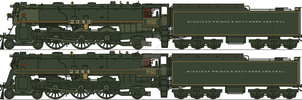 MFSC Ex-Canadian Pacific 4-6-2s by Lapeer