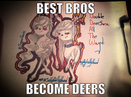 DOUBLE DEER SONA ALL THE WAY by JellyBellyHound