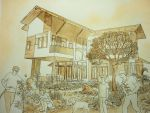 My Project House Perspective by ashitakaryo