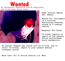 Wanted: Scarlet Sketch by Miel1994