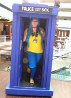 Anime Central 2014 - My Lovely Kitty in the TARDIS by GoodDokCosplay