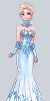 Elsa's Fancy Dress by Yamino