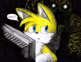 Tails The Fox (do not look back) by erosmilestailsprower
